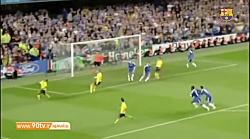گل خاطره انگیز اینیستا به چلسی و صعود بارسلونا به فینال لیگ قهرمانان