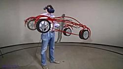 فناوری واقعیت افزوده در طراحی 3 بعدی فورد  Ford   3D Virtual Reality Car Design