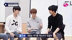 PENTAGON Funny Clip #31 - Too early in the morning for Yuto to sing