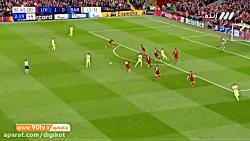 خلاصه بازی و گلهای لیورپول 4 - 0 بارسلونا