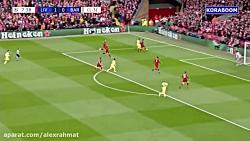 خلاصه بازی دیدنی و جذاب لیورپول 4-0 بارسلونا با گزارشگر عربی