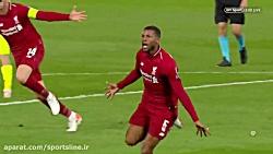 لیورپول 4 - 0 بارسلونا | صعود لیورپول به فینال UCL
