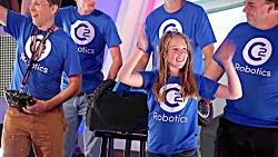 مسابقه ربات ها جنگ ربات ها پارت ( 13 )OVERDRIVE vs CHOMP