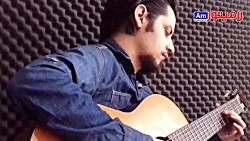 آموزش ملودی زدن با پیک ( بخش چهارم از سری آموزشی گیتار با پیک)