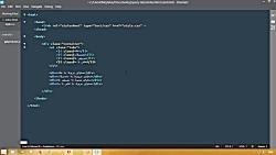 آموزش ایجاد تب ها با HTML CSS و jQuery