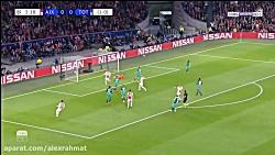 خلاصه بازی دیدنی و جذاب آژاکس 2-3 تاتنهام با گزارشگر عربی