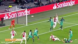 خلاصه لیگ قهرمانان اروپا: آژاکس 2-3 تاتنهام (مجموع 3-3 و صعود تاتنهام به فینال)