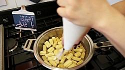طرز تهیه شیرینی بامیه 100% تصمینی