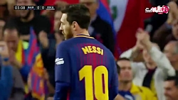 خلاصه بازی بارسلونا 2-2 رئال مادرید
