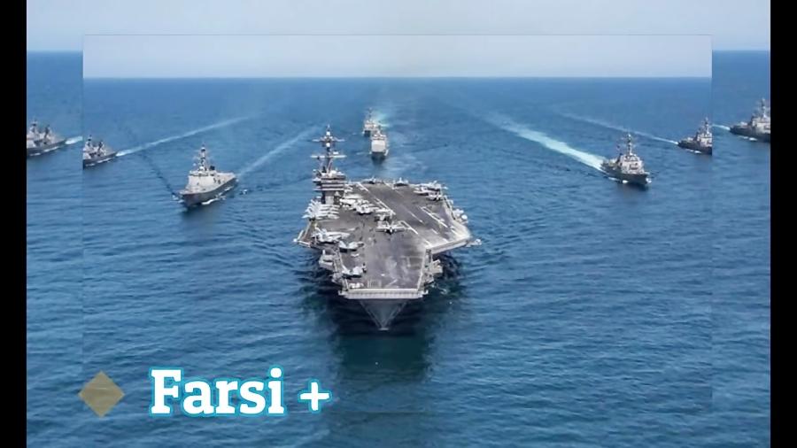 چهار بمب افکن بی 52 آمریکا در خلیج فارس