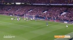 خلاصه لیگ اروپا: چلسی (4) 1-1 (3) فرانکفورت (مجموع 2-2 و صعود چلسی به فینال)
