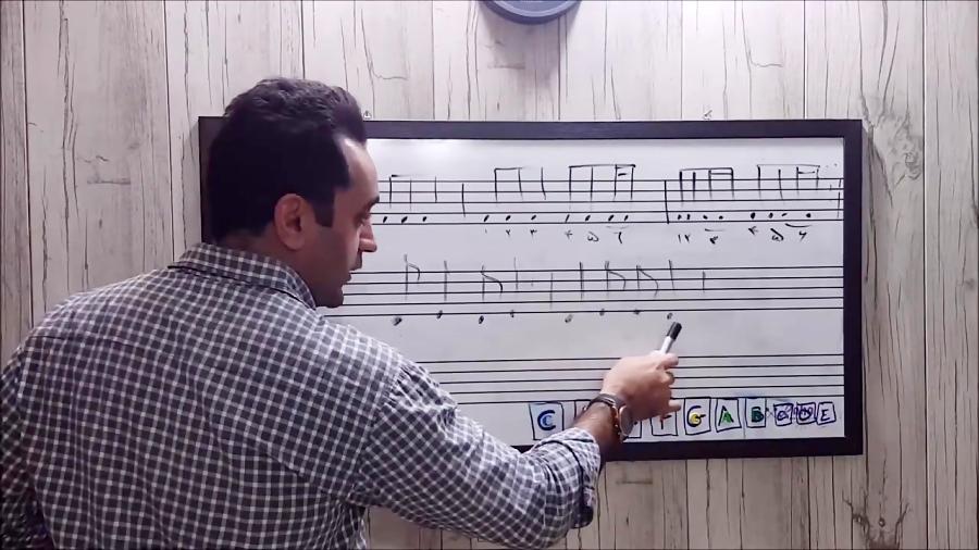 ۱۳ وزنخ آموزش تئوری موسیقی ایمان ملکی