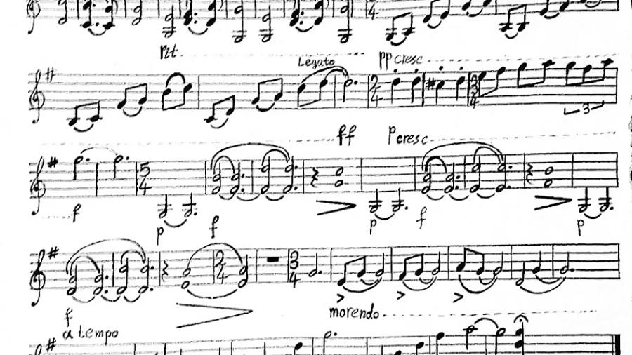 زادروز قطعهای در ماهور برای ویولون آهنگساز کوشا میرزایی نوازنده ایمان ملکی