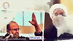سخنان کوبنده حاج سعید قاسمی در مورد روحانی