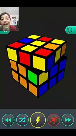 حل مکعب روبیک ۳×۳