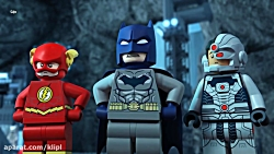 انیمیشن لگو لیگ عدالت برخورد کیهانی 2016 | دوبله | کارتون سینمایی | کانال گاد