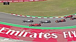 خلاصه ی مسابقه ی فرمول 1 - گرندپری اسپانیا - 2019