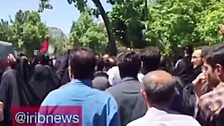 تجمع اساتید و دانشجویان دانشگاه تهران در حمایت از حجاب