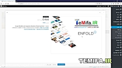 آموزش کار و نصب قالب ENFOL...