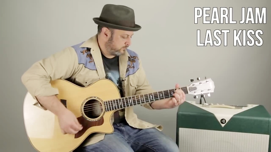 "Pearl Jam ""Last Kiss"" Beginner Acoustic Guitar Lesson - How to Play Guitar"