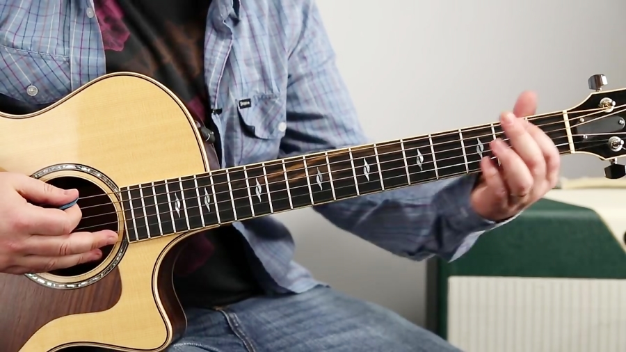 """How to Play """"About a Girl"""" by Nirvana on Guitar - Easy Acoustic Songs"""