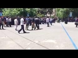 درگیری و التهاب در دانشگاه تهران بر سر طرح حجاب ❤