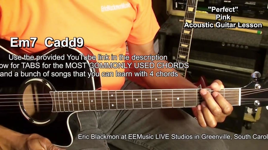 How To Play Sia ALIVE Style Chords Lesson #314 EricBlackmonGuitar