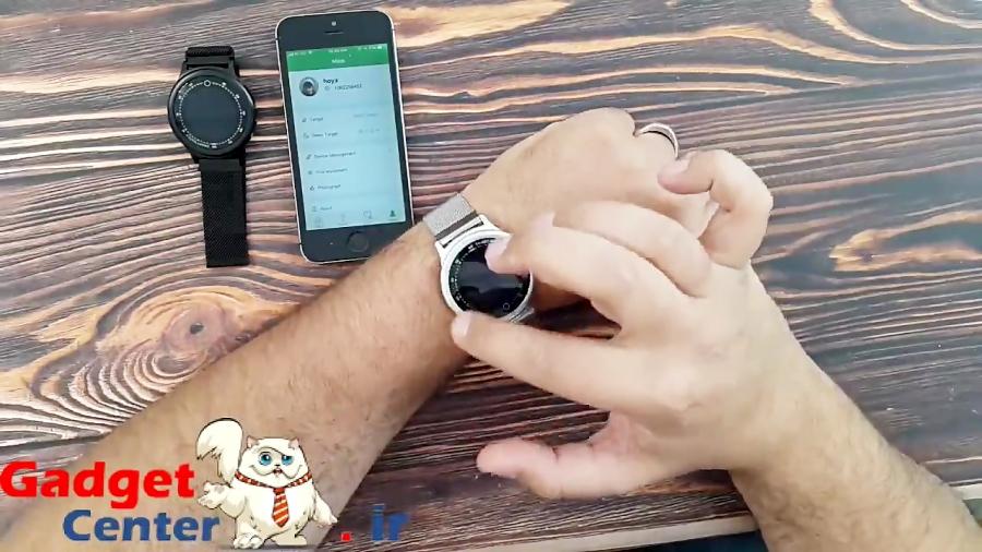 ساعت هوشمند  Q28 با کیفیت صفحه نمایش بالا و بند قابل تعویض