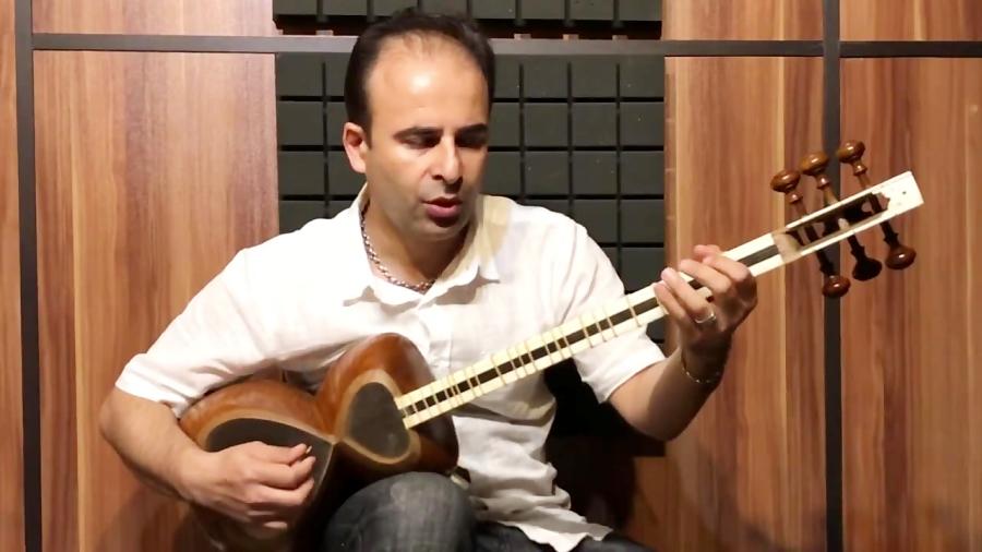 درس ۱۷ تمرین گام دو بزرگ در دو هنگام تار و ترانه نیما فریدونی تار
