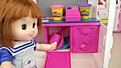 کلیپ دخترونه عروسک کوچولو و آشپزخانه باربی