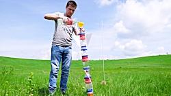 علوم موشک مدل:ساخت موشک ابی،چتر دار پیشرفته!
