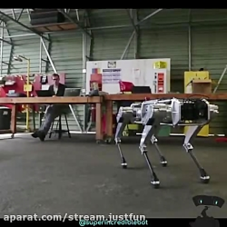 ربات سگ هوشمند .خار تکن...