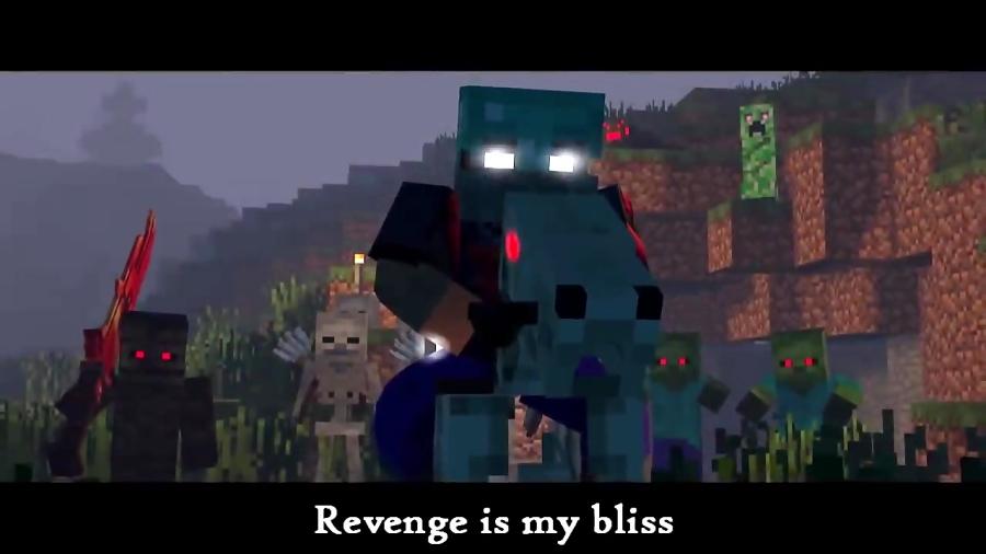 minecraft music video herobrine s life