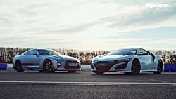 رقابت هوندا NSX با نیسان GT-R تقویت شده