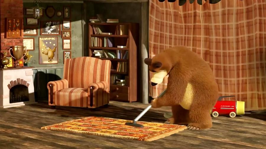 знать, картинка комнаты маша и медведь этот
