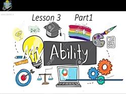 آموزش درس سوم زبان انگلیسی هشتم - بخش اول