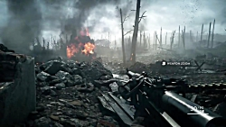 گیم پلی بازی بتفیلد 1 Battlefield 1 ps4 پلی استیشن 4 part1
