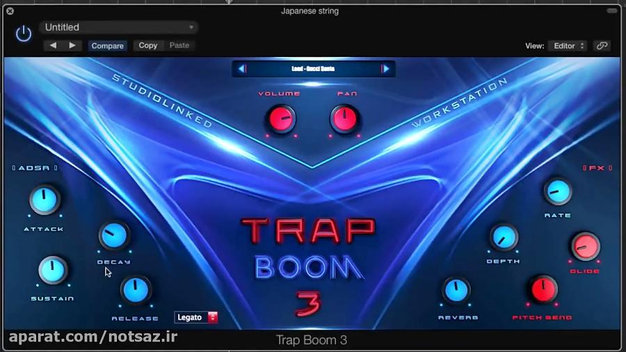 وی اس تی ترپ Studiolinked - Trap Boom 3