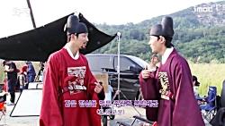 پشت صحنه سریال جونگ میو...