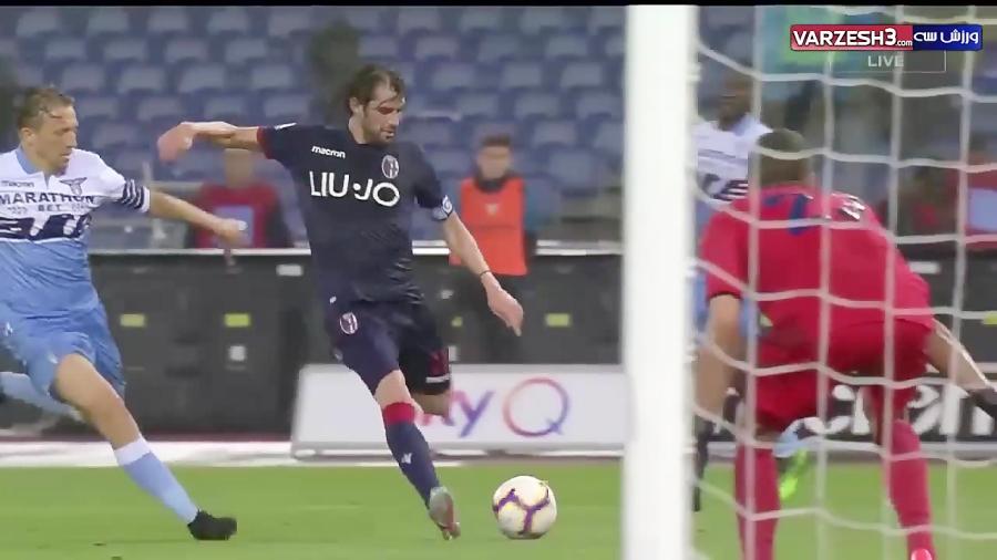خلاصه بازی لاتزیو 3 - بولونیا 3