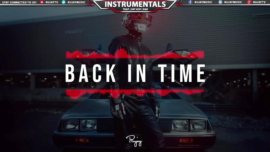 "Back In Time"" - Futuristic Rap Beat Free Hip Hop Instrumental Music 2018"
