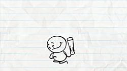 انیمیشن کمدی آدمک مداد...