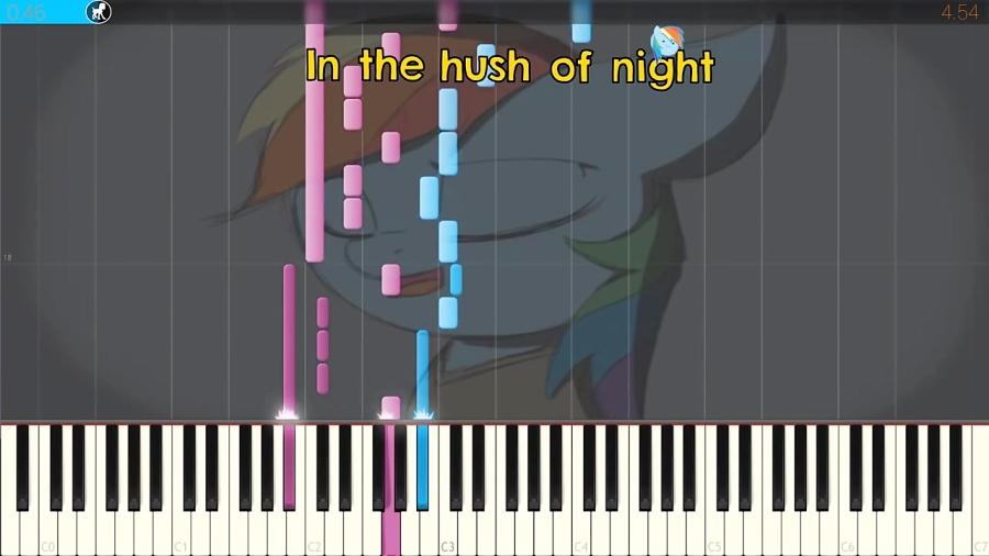 کاور پیانو با آهنگ I Will Be There -