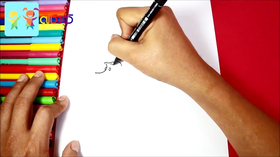 سگ پا کوتاه مهربون - آموزش نقاشی کودکان - کانال کودکانه