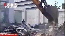 آخرین خبر از تخریب ویلا...