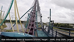 گردشگری |Mako Seaworld Orlando POV
