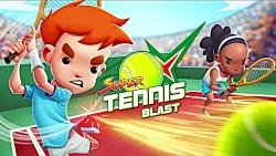 بازی Super Tennis Blast