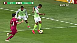 خلاصه بازی قطر 0  - نیجری...