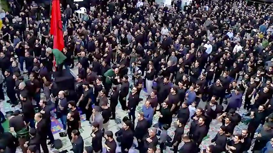 مداحی حاج محمود کریمی ، سربند سرخ یاحسین _ مداحی ایرانی