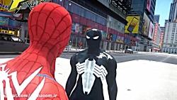 نبرد مرد عنکبوتی در مقابل مرد عنکبوتی سیاه